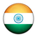 flag, india, country icon