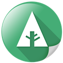 green, forrst, botany, eco, ecology, basic icon