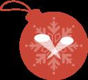 ball, limelight, christmas icon