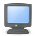 Computer, My, On icon
