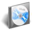 save, cd, disk, disc, music icon