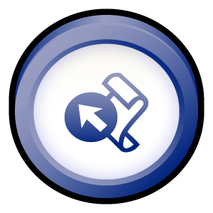 microsoft, frontpage, badge, office icon