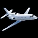 airplane, travel, plane, transport, falcon, flight, transportation icon