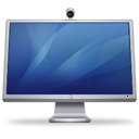 Cinema Display iSight blue icon