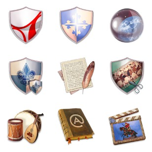 The Lords Applications icon sets preview