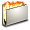Burn Metal Folder icon