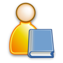 user,library,account icon