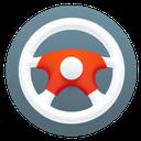 steering wheel, htc, car icon