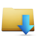 classic,folder,downloads icon