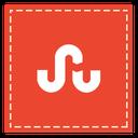 stumbleupon, square icon
