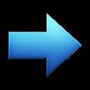 yes, arrow, right, correct, ok, forward, next icon