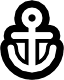 anchor outline icon