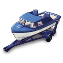 Boat and Trailer icon