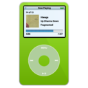 ipod,video,green icon