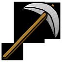pickaxe, iron icon