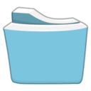 teal,folder icon