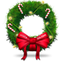 christmas,bow icon