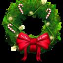 christmas,bow icon