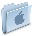 folder, apple icon