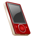 Gb, Off, Rouge, Zune icon
