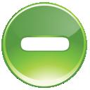 Green, Minus, Remove icon