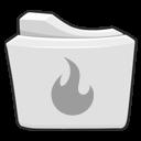 folder, alt, burn icon