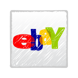 social, social media, social network, ebay icon