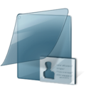 namecard,folder icon