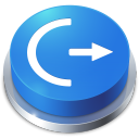 Perspective Button Logoff icon
