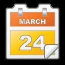 march, calendar, date, event icon