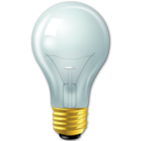 light bulb, idea icon