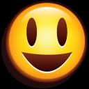 Emoji Glad icon
