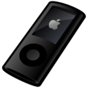 ipod,nano,black icon