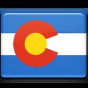 colorado, flag icon
