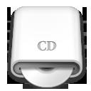 whitedrives,cd,disc icon