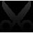Clipboard, Cut icon