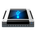 driver, disk, removable, usb icon