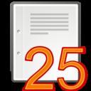 twenty,five,per icon