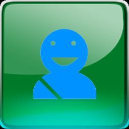 friendly, driver icon