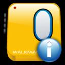 about, info, information, walkman icon
