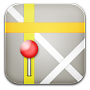 maps pin icon