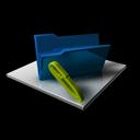 edit, write, folder, empty, writing, blank icon