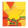 Christmas, , Star icon