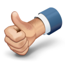 up, vote, thumbs, like, thumbs up icon