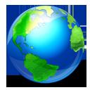 internet, browser, planet, earth, globe, world icon