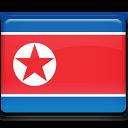 flag, country, korea, north icon