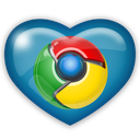 social, media, chrome icon