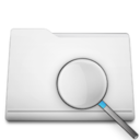 white,folder,search icon