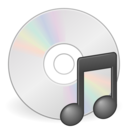 media optical audio new icon