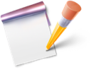 note, blog, edit, write icon